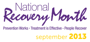 Recovery Month logo